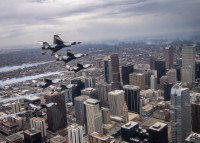 ニュース画像:ブルーズとバーズ、共同で全米各地で展示飛行 まずはニューヨークから