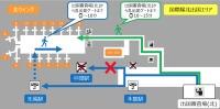 ニュース画像:関西国際空港、エスカレーターとエレベーターの工事に伴い北中間駅を閉鎖