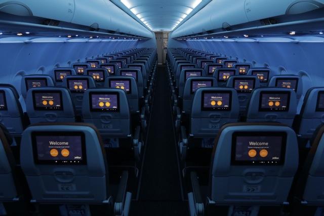 ニュース画像 1枚目:ジェットブルー 機内イメージ