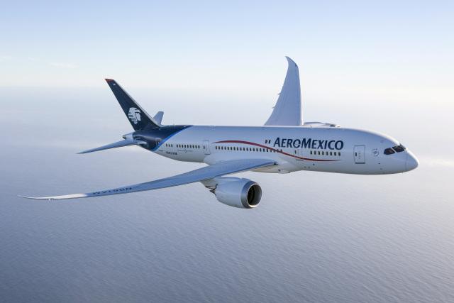 ニュース画像 1枚目:アエロメヒコ航空 787