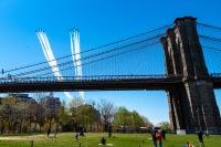 ニュース画像 5枚目:上空を展示したブルーエンジェルズとサンダーバーズ
