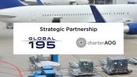 ニュース画像:グローバル195とチャーターAOGが提携、増加する貨物需要に対応