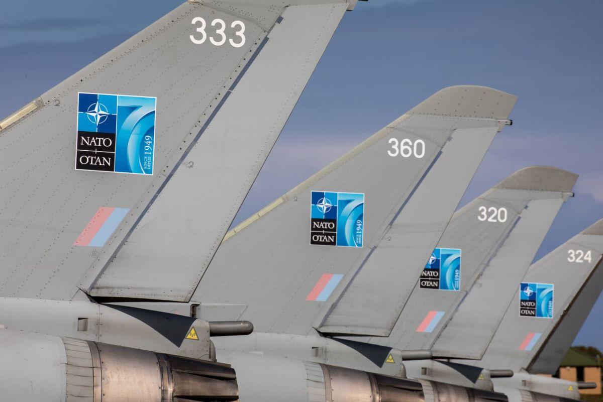 ニュース画像 1枚目:第6飛行隊ユーロファイター・タイフーンFGR