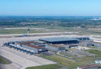 ニュース画像:10月開港のベルリン新空港、ターミナル1が完成 テスト運用開始