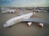 ニュース画像:エミレーツ、運航停止中の218機にメンテナンスを実施