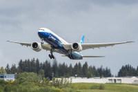 ニュース画像:777Xの2号機が初飛行、操縦性や機体性能の試験項目を実施