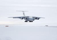 ニュース画像:ロシア空軍、北極圏で高高度から空挺部隊がパラシュート降下 世界初