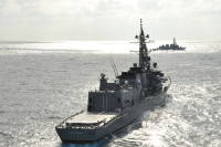 ニュース画像:きりさめ、中東へ5月10日出港 2週間は日本近海訓練で実質「隔離」