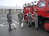 ニュース画像:八雲分屯基地、「全道春の火災予防運動」に参加