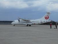 ニュース画像:北海道エアシステムの新機材ATR42-600、三沢/丘珠線に初就航