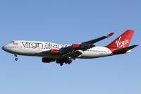 ニュース画像:英ヴァージン、ヒースロー発着に統一 4発機の747-400は退役