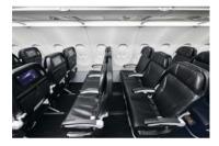 ニュース画像:スターフライヤー、機内ソーシャルディスタンスのトライアル実施へ