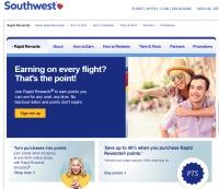 ニュース画像:サウスウェスト、マイレージプログラムがフレディ・アワードで4賞を受賞