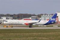 ニュース画像:SAS、A321LR初号機の愛称は「ヤール・バイキング」