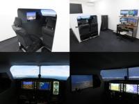 タマディック、岡山航空に納入した自社製品が初めて飛行訓練装置に認定の画像