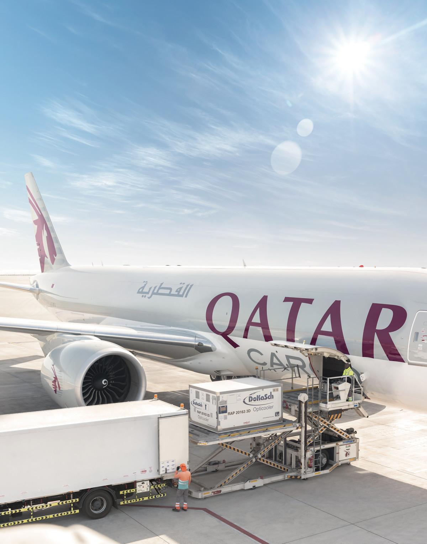 ニュース画像 1枚目:カタール航空カーゴ イメージ