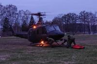 ニュース画像:北海道標茶町での山林火災、陸自ヘリが災害派遣に対応