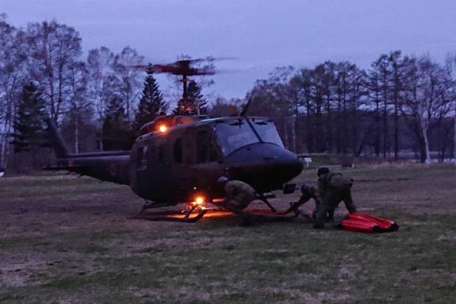 ニュース画像 1枚目:第5飛行隊 UH-1