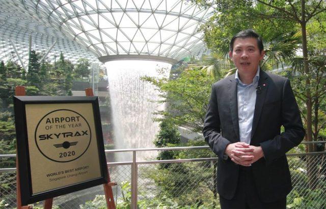 ニュース画像 1枚目:8年連続で世界一となったシンガポールのチャンギ国際空港