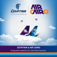 ニュース画像:エジプト航空とエア・カイロ、ネットワークや機材統合めざし覚書締結