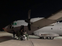ニュース画像:スロバキア空軍C-27J、自国民などキプロスからの避難を支援