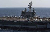 ニュース画像:ロナルド・レーガン艦載機、FCLPとCQ実施 新型コロナで異例の長さ
