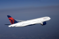 ニュース画像:デルタ航空、日本発最終のボーイング777型機は10月30日