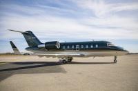 ニュース画像:チャレンジャー650、VIPから航空医療搬送に短時間で仕様変更