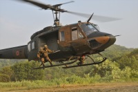 東部方面航空隊UH-1J、部品落下 周辺自治体が再発防止を要請の画像