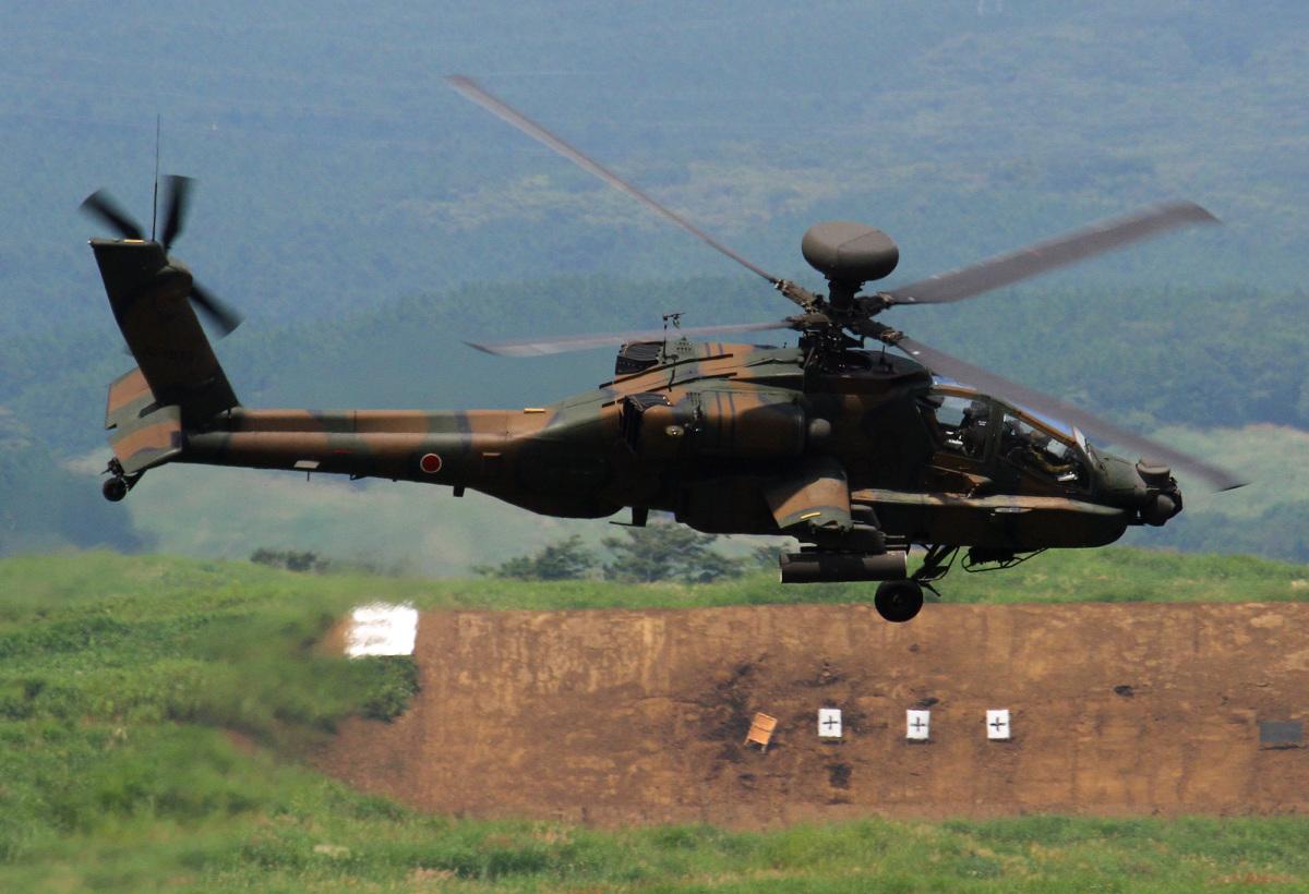 ニュース画像 1枚目:演習に参加したAH-64D