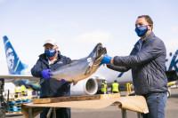 ニュース画像:アラスカ航空、2020年も恒例のアラスカ産「サーモン」を初輸送