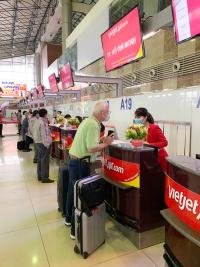 ニュース画像:ベトジェットエア、ハノイ空港で国内線のチェックインゾーンを変更