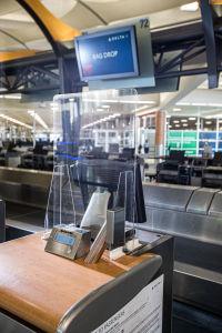 ニュース画像 1枚目:デルタ航空のカウンターイメージ