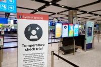 ニュース画像:ロンドン・ヒースロー空港、サーモグラフィスクリーニング検査を試験導入