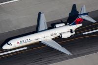 ニュース画像:デルタ航空、717の保有機数を半減へ
