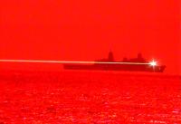 実用化間近か!? アメリカ海軍、レーザー兵器テストでUAV撃墜の画像