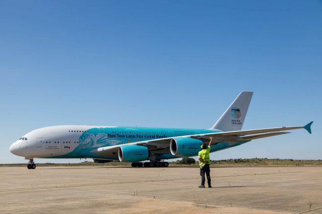 ニュース画像 1枚目:ハイ・フライのA380