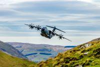 ニュース画像:A400M輸送機、自動低空飛行で認証