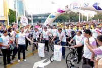 ニュース画像:タイ国際航空とタイ国政府観光庁、自転車で観光プロモーション