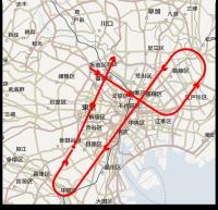 ニュース画像 2枚目:飛行予定の航路