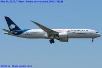 メキシコ航空史上で最長フライト、アエロメヒコが787-9で深圳からの画像