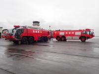 ニュース画像:青森空港消防隊、消火救難訓練で日頃の訓練成果を発揮