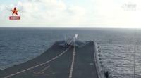 ニュース画像:中国海軍初の国産空母「山東」、海上公試を開始