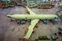 イリューシン、IL-96-400Mプロトタイプが完成間近の画像