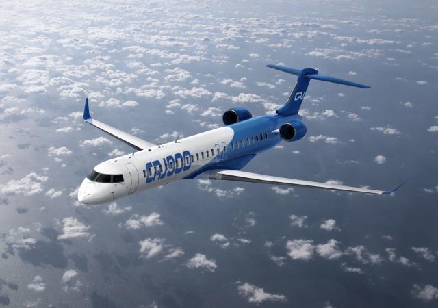 ニュース画像 1枚目:ボンバルディア CRJ-900