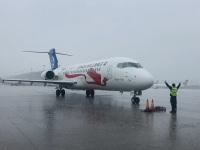 ニュース画像:上海浦東国際空港から初のARJ21が運航、江西航空の上海/南昌線で