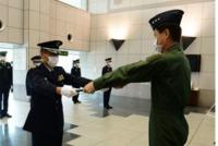 ニュース画像:南西航空警戒管制団、累計1,000回の緊急発進指令で第2級表彰を受賞