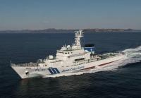 ニュース画像:海保向け新造巡視船「PL91つるが」、敦賀港に入港