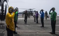 ニュース画像:米海軍長官、ハリー・S・トルーマン空母打撃群の6月中旬帰港を発表