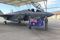ニュース画像:オーストラリア空軍F-35Aの初号機、1,000飛行時間を達成